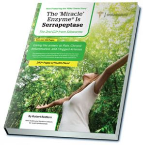 Download The Serrapeptase eBook by Robert Redfern for FREE